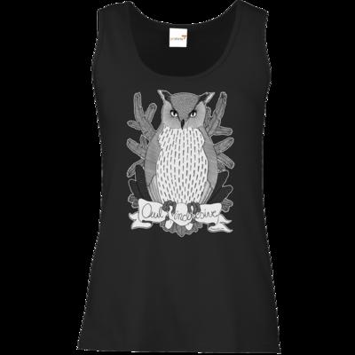 Motiv: Tank Top Damen Classic - Owl Inclusive