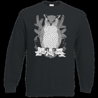 Motiv: Sweatshirt Classic - Owl Inclusive