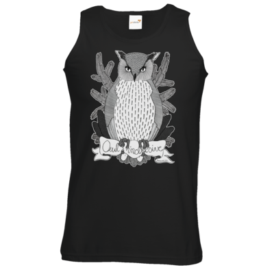 Motiv: Athletic Vest - Owl Inclusive