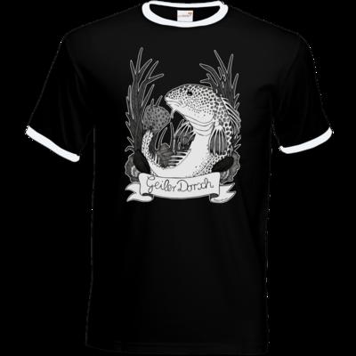 Motiv: T-Shirt Ringer - Geiler Dorsch