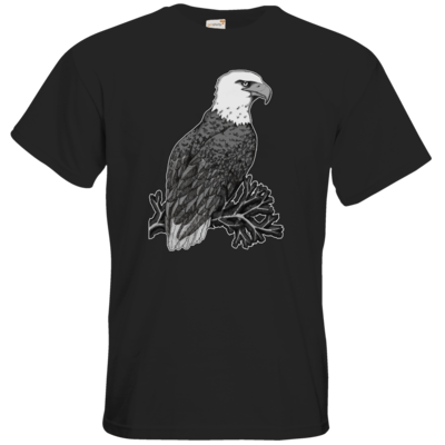 Motiv: T-Shirt Premium FAIR WEAR - Adler
