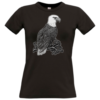 Motiv: T-Shirt Damen Premium FAIR WEAR - Adler