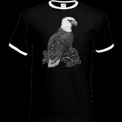 Motiv: T-Shirt Ringer - Adler