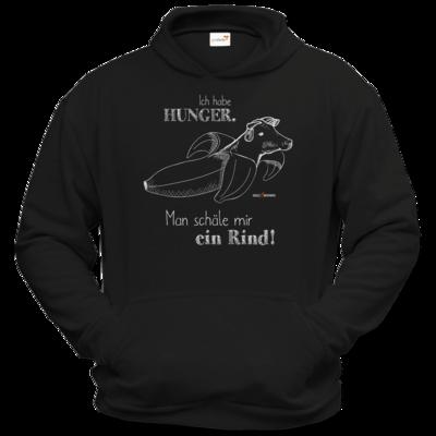 Motiv: Hoodie Classic - SizzleBrothers - Grillen - Hunger Rind schälen