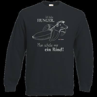 Motiv: Sweatshirt Classic - SizzleBrothers - Grillen - Hunger Rind schälen