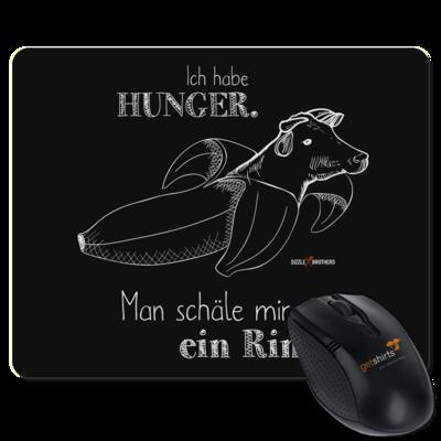 Motiv: Mousepad Textil - SizzleBrothers - Grillen - Hunger Rind schälen
