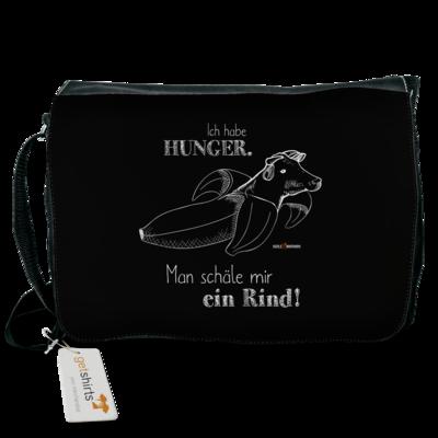 Motiv: Schultertasche - SizzleBrothers - Grillen - Hunger Rind schälen