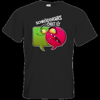 Motiv: T-Shirt Premium FAIR WEAR - Schroedingers Chat
