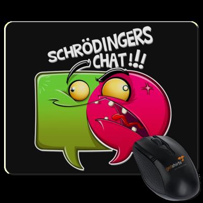 Motiv: Mousepad Textil - Schroedingers Chat