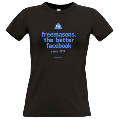 Motiv: T-Shirt Damen Premium FAIR WEAR - freemasons