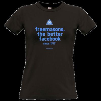 Motiv: T-Shirt Damen Premium FAIR WEAR - freemasons