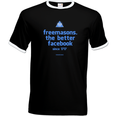 Motiv: T-Shirt Ringer - freemasons