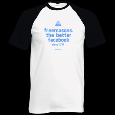 Motiv: TShirt Baseball - freemasons