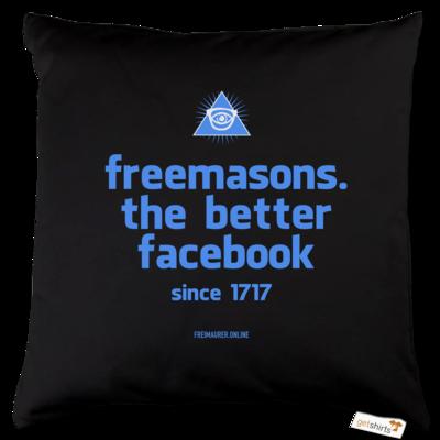 Motiv: Kissen Baumwolle - freemasons