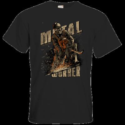 Motiv: T-Shirt Premium FAIR WEAR - Biker - Trucker - Mechanic Schmied Schweisser