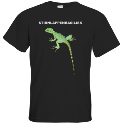 Motiv: T-Shirt Premium FAIR WEAR - Stirnlappenbasilisk