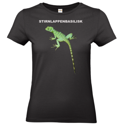 Motiv: T-Shirt Damen Premium FAIR WEAR - Stirnlappenbasilisk