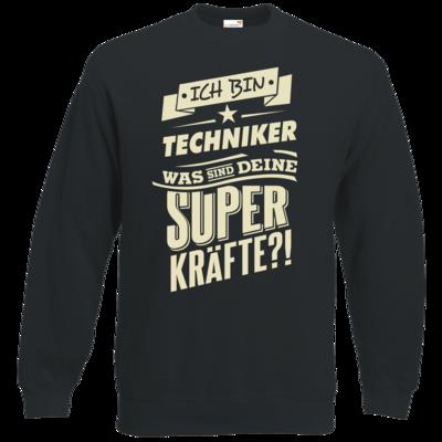 Motiv: Sweatshirt Classic - Superkraefte Techniker
