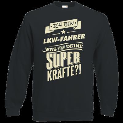Motiv: Sweatshirt Classic - Superkraefte LKW-Fahrer