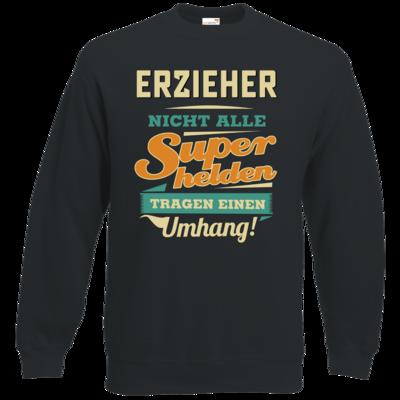 Motiv: Sweatshirt Classic - Superhelden Umhang - Erzieher