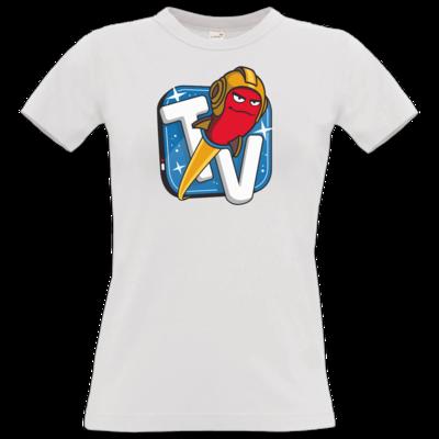 Motiv: T-Shirt Damen Premium FAIR WEAR - Senderlogo