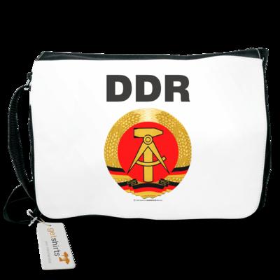 Motiv: Schultertasche - DDR - Symbol