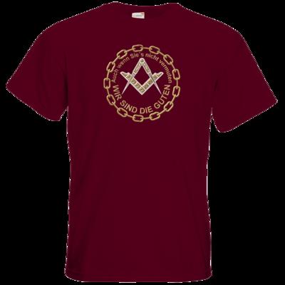 Motiv: T-Shirt Premium FAIR WEAR - Freemasonry-Art - Wir sind die guten
