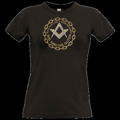 Motiv: T-Shirt Damen Premium FAIR WEAR - Freemasonry-Art - Wir sind die guten