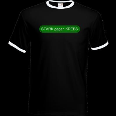Motiv: T-Shirt Ringer - STARK gegen KREBS