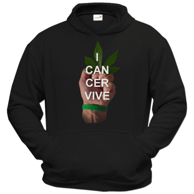 Motiv: Hoodie Classic - I CAN CER VIVE