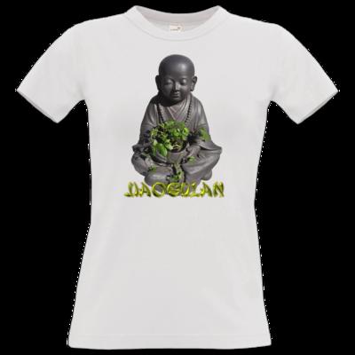 Motiv: T-Shirt Damen Premium FAIR WEAR - Jiaogulan-Mönch