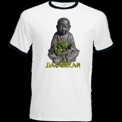 Motiv: T-Shirt Ringer - Jiaogulan-Mönch