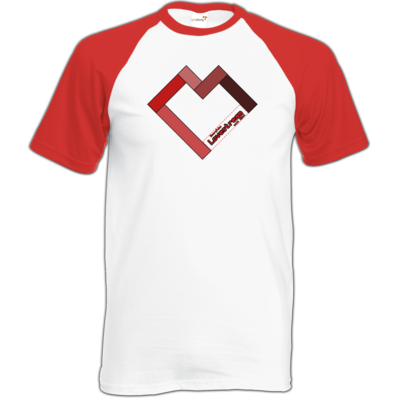Motiv: TShirt Baseball - LOVEHERZ