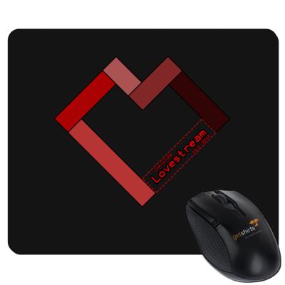 Motiv: Mousepad Textil - LOVEHERZ