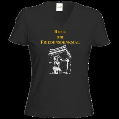 Motiv: T-Shirt Damen V-Neck Classic - Logo