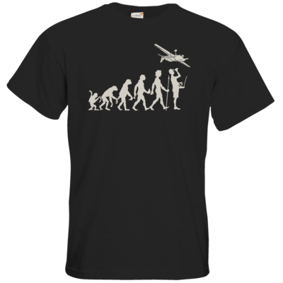 Motiv: T-Shirt Premium FAIR WEAR - Modellflieger - Evolution