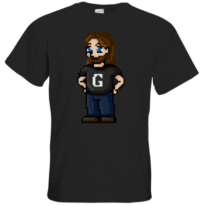 Motiv: T-Shirt Premium FAIR WEAR - Pixelgronkh