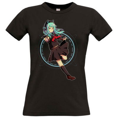 Motiv: T-Shirt Damen Premium FAIR WEAR - Modus Yandere