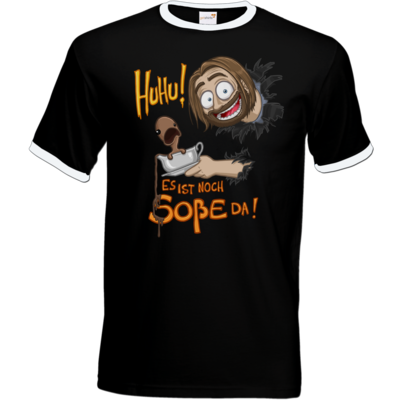 Motiv: T-Shirt Ringer - Es ist noch Sosse da