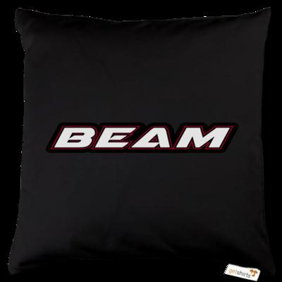 Motiv: Kissen Baumwolle - Beam Logo