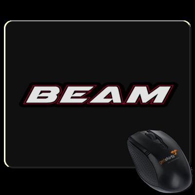 Motiv: Mousepad Textil - Beam Logo