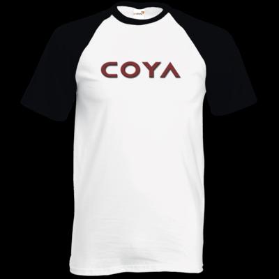 Motiv: TShirt Baseball - Coya Logo