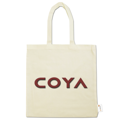 Motiv: Baumwolltasche - Coya Logo