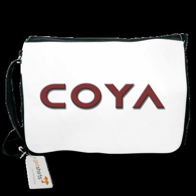 Motiv: Schultertasche - Coya Logo