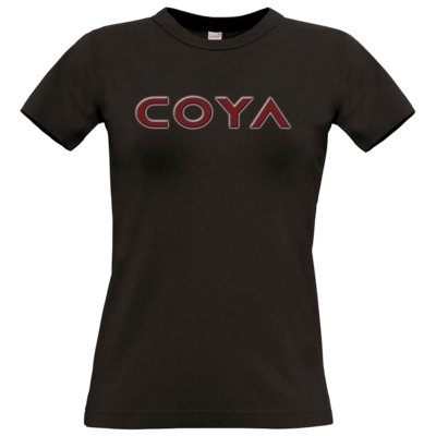 Motiv: T-Shirt Damen Premium FAIR WEAR - Coya Logo