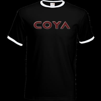 Motiv: T-Shirt Ringer - Coya Logo