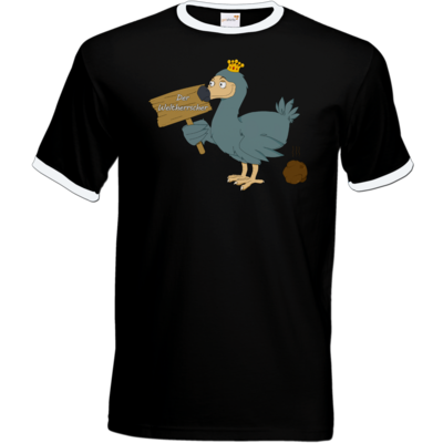 Motiv: T-Shirt Ringer - Motiv Weltherrscher