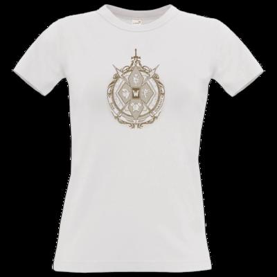Motiv: T-Shirt Damen Premium FAIR WEAR - B2W Wappen Color