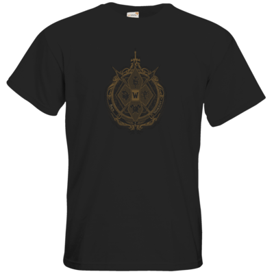 Motiv: T-Shirt Premium FAIR WEAR - B2W Wappen Black