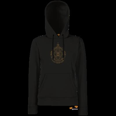 Motiv: Hoodie Damen Classic - B2W Wappen Black